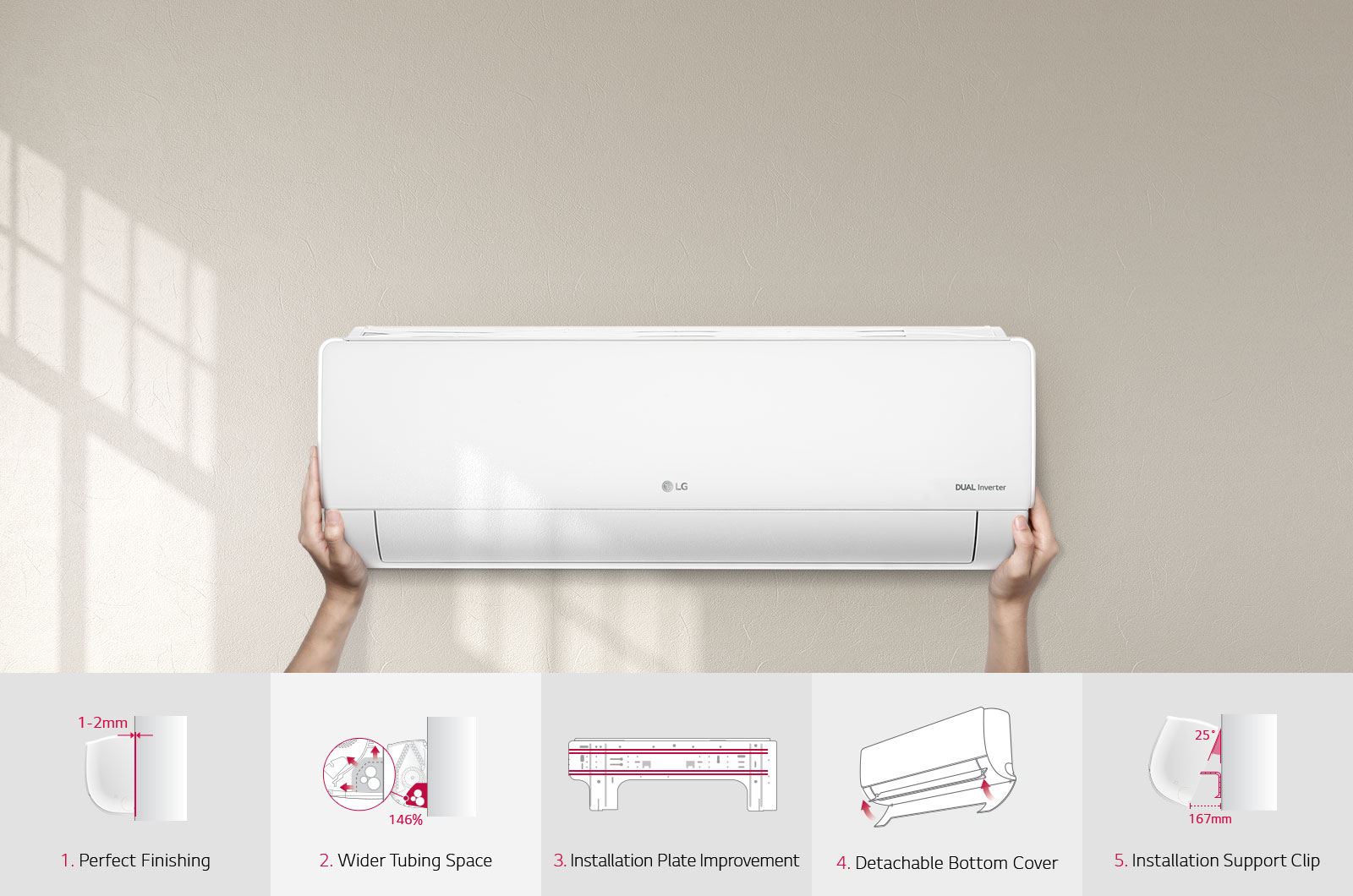 Features of installation of air conditioning in the house 88