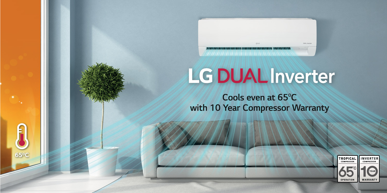 Split Air Conditioners: LG Split AC Units | LG UAE Part 52