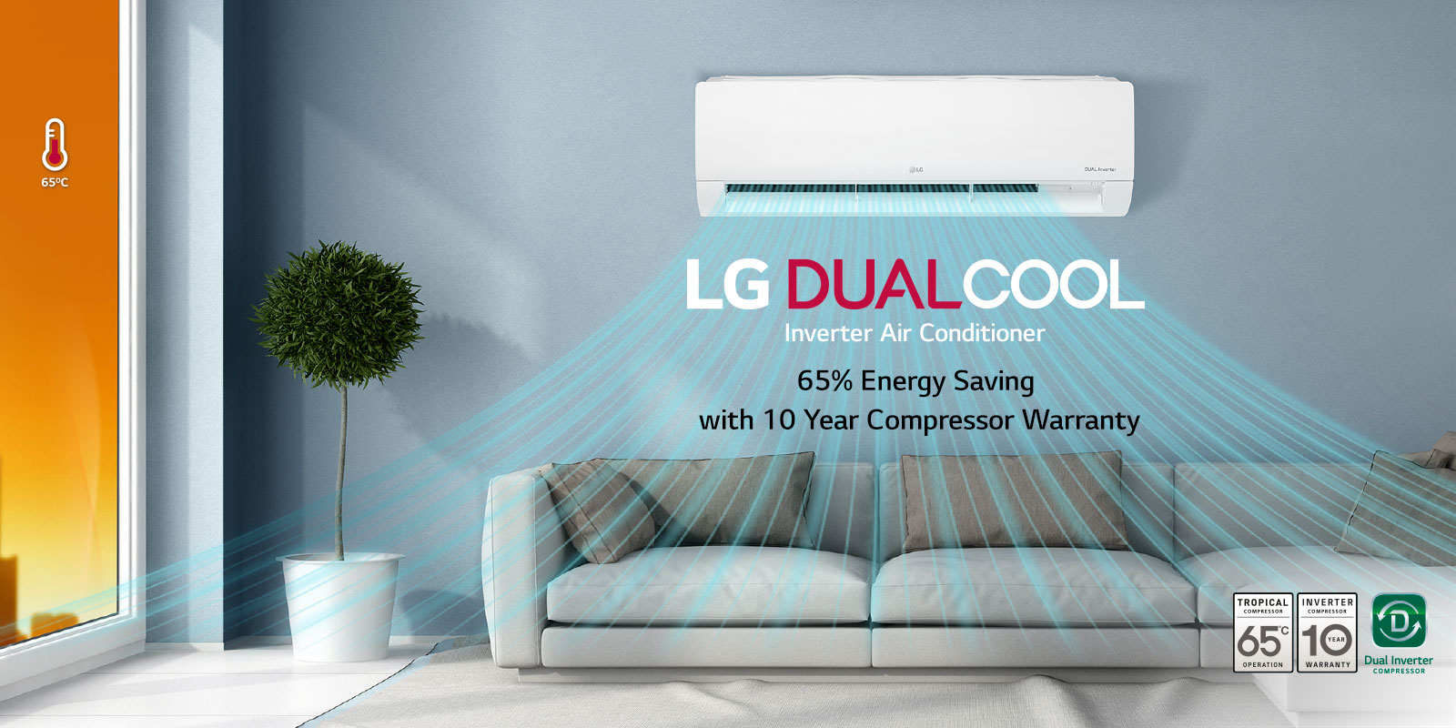 Split Air Conditioners: LG Split AC Units | LG UAE