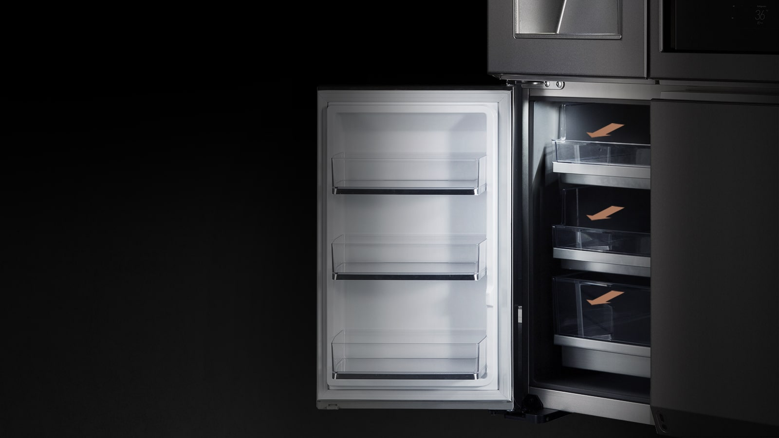 Lg Signature Instaview Door In Door Refrigerator