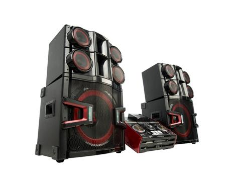 LG XBOOM CM9940: Audio - Mini Component X-Boom PRO | LG UAE