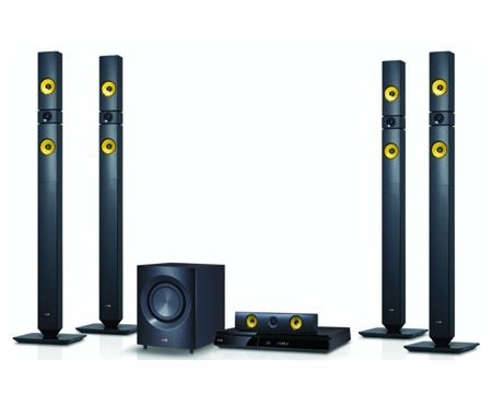 LG Home Theatre Systems DH7531T 1