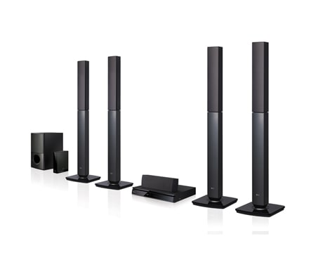 LG Home Theatre Systems LHD655W 1