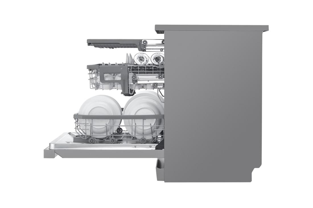 غسالة الصحون إل جي كواد ووش 14 إعداد – فولاذ مقاوم للصدأ (DFB325HS)