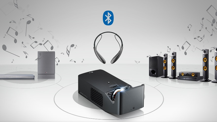 Bluetooth sound out for wireless sound system