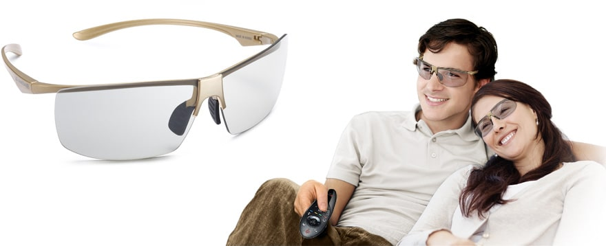 Comfortable 3D Glasses