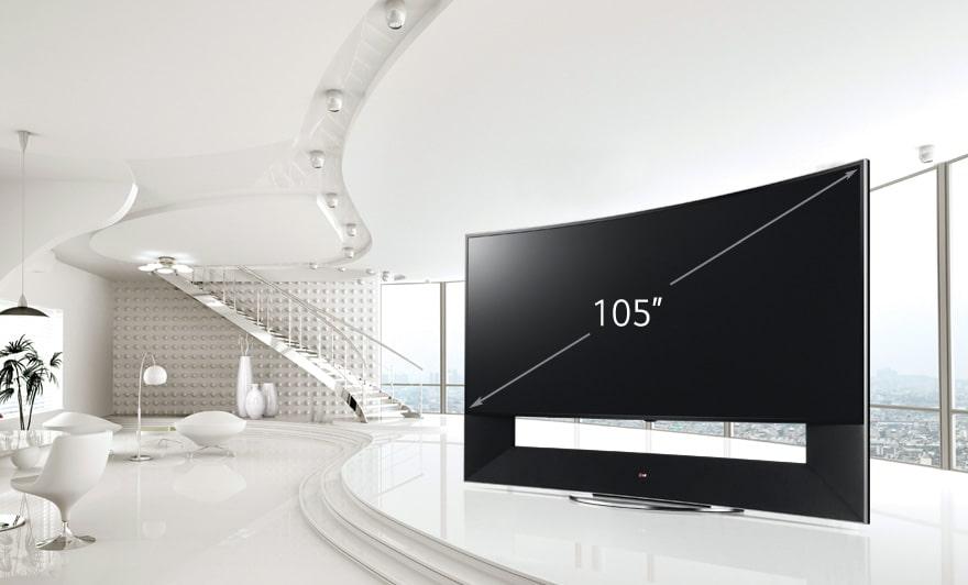 105 Inch Gigantic Screen