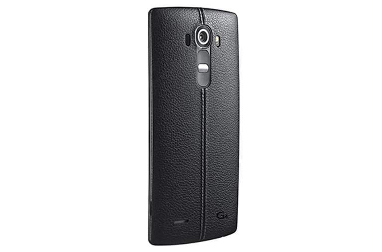 Mobile Accessories Stylish Genuine Leather Back Cover for LG G4 thumbnail 2