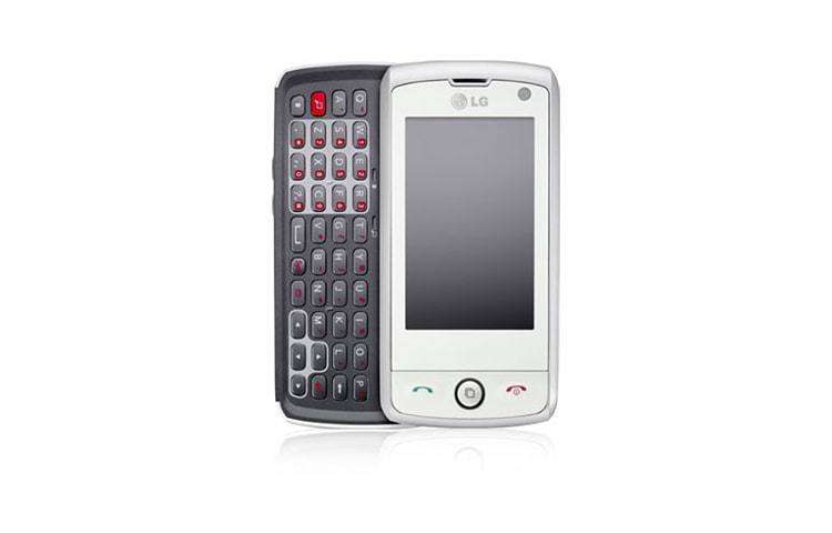 "LG Mobile Phones 2.8"" full touch screen with slide out QWERTY keypad thumbnail 1"