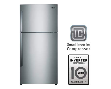 Lg Gn B722hlcl Wide Top Freezer With Smart Inverter