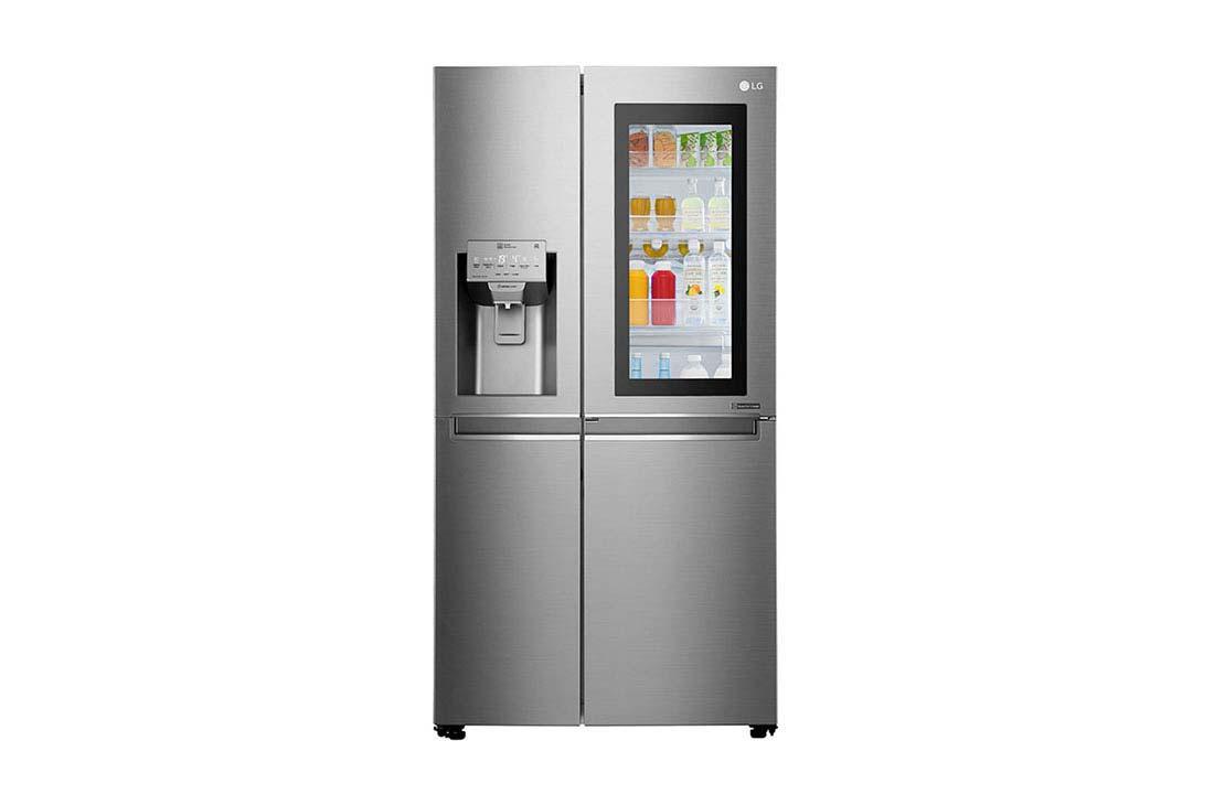 یخچال ساید بای ساید LG، InstaView Do-in-Door Hy، Hygiene FRESH + ™، ThinQ، GR-X257CSAV