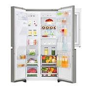LG Side by Side Refrigerator, InstaView Door-in-Door™, Hygiene FRESH+™, ThinQ, GR-X257CSAV, thumbnail 5