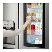 LG Side by Side Refrigerator, InstaView Door-in-Door™, Hygiene FRESH+™, ThinQ, GR-X257CSAV, thumbnail 6