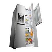 LG Side by Side Refrigerator, InstaView Door-in-Door™, Hygiene FRESH+™, ThinQ, GR-X257CSAV, thumbnail 9