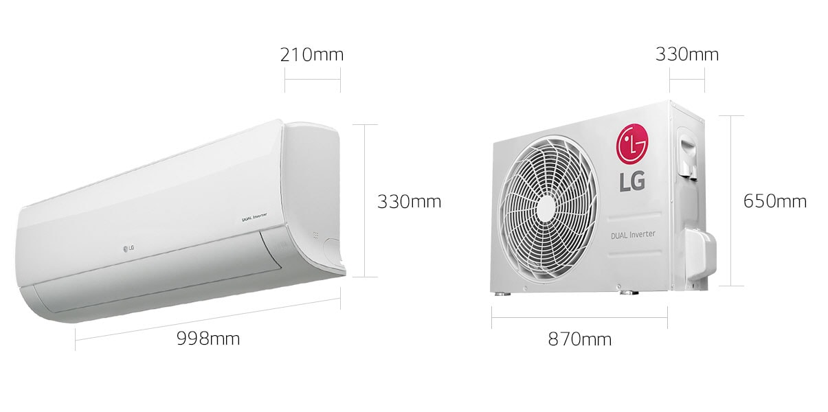 Lg All New Air Conditioner Lg Dualcool Inverter Lg Uae