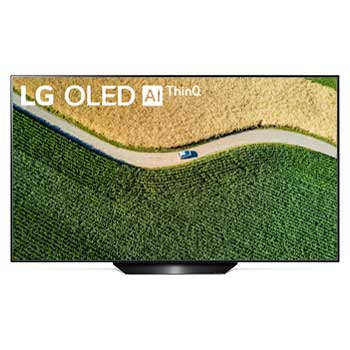 LG OLED TV 65 inch B9 Series Perfect Cinema Screen Design 4K HDR Smart TV w/ ThinQ AI1
