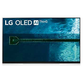 LG OLED TV 65 inch E9 Series Picture on Glass Design 4K HDR Smart TV w/ ThinQ AI1