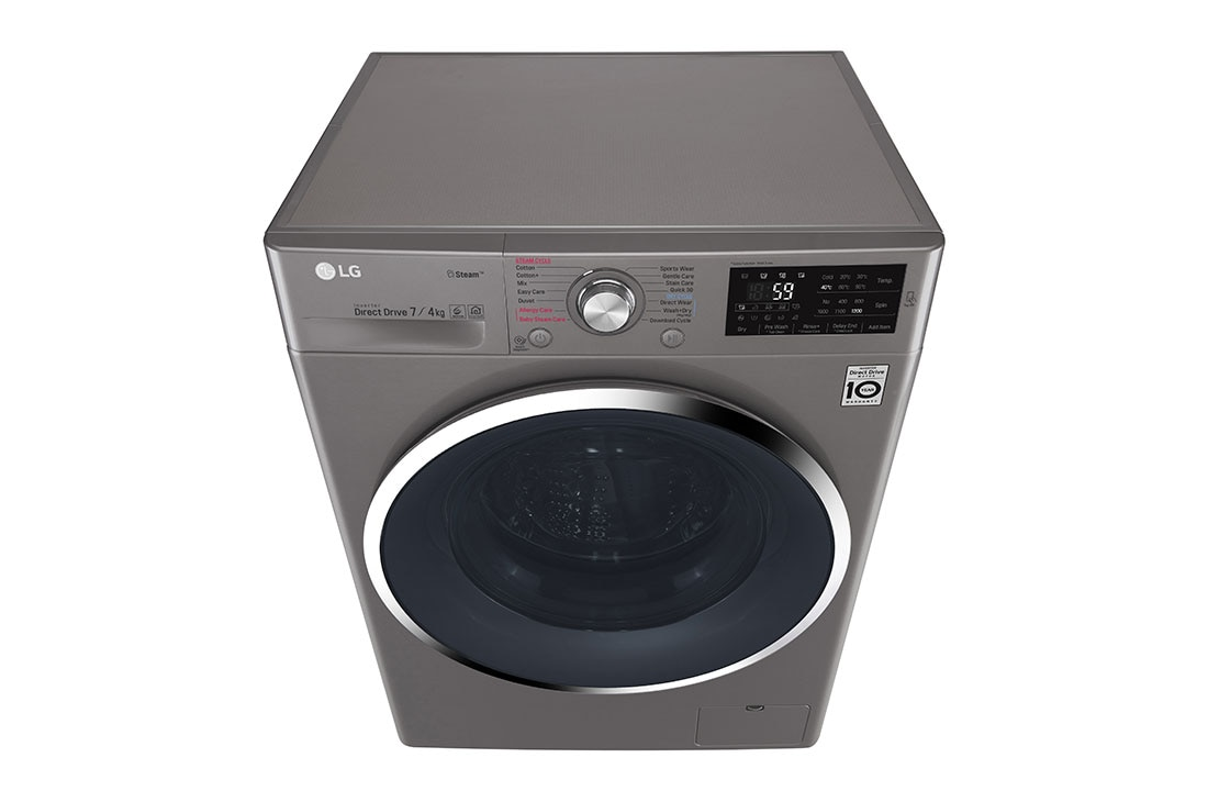 LG F2J6HGP2S : Washer & Dryer, 7 / 4 Kg, 6 Motion Direct Drive, Steam  Technology, Add Item, ThinQ | Zit.ng