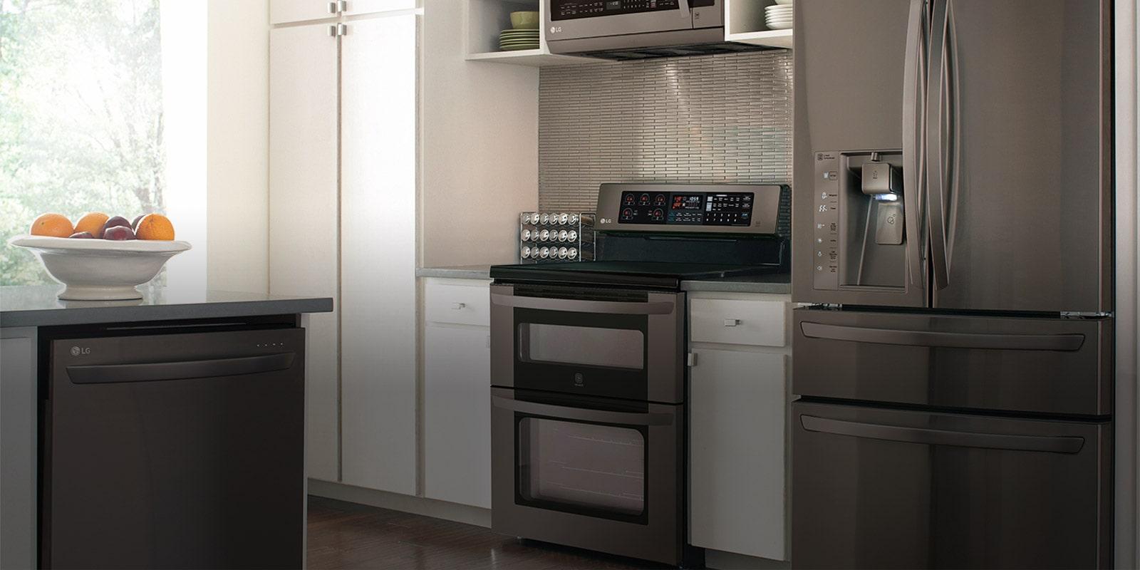 الميكروويف المدمج أدوات المطبخ إل جي الإمارات