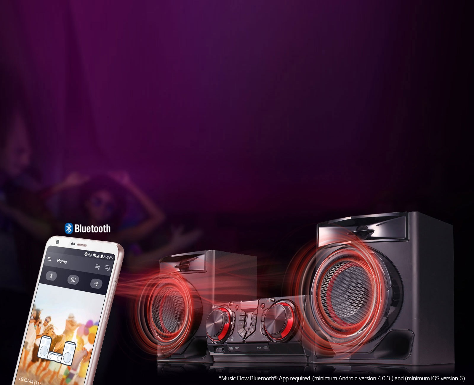 Bluetooth Music Streaming/Bluetooth® Multipoint