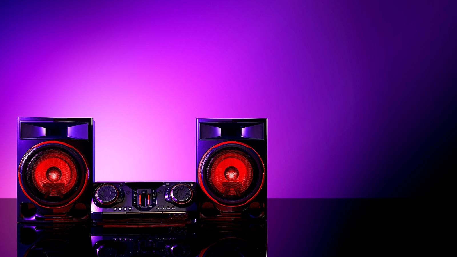 Powerful 2350-Watt Sound1