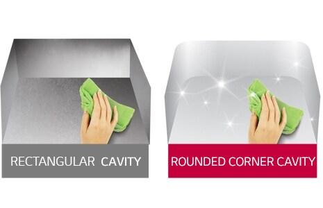 Rounded Corner Cavity