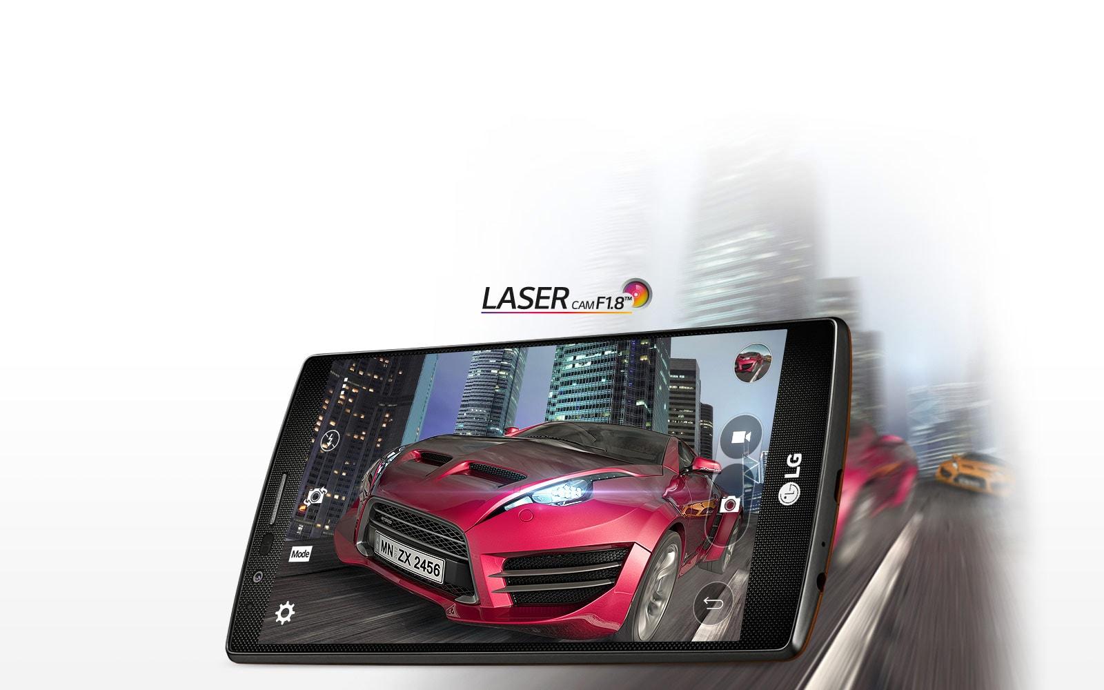 Laser AF Camera and OIS 2.0