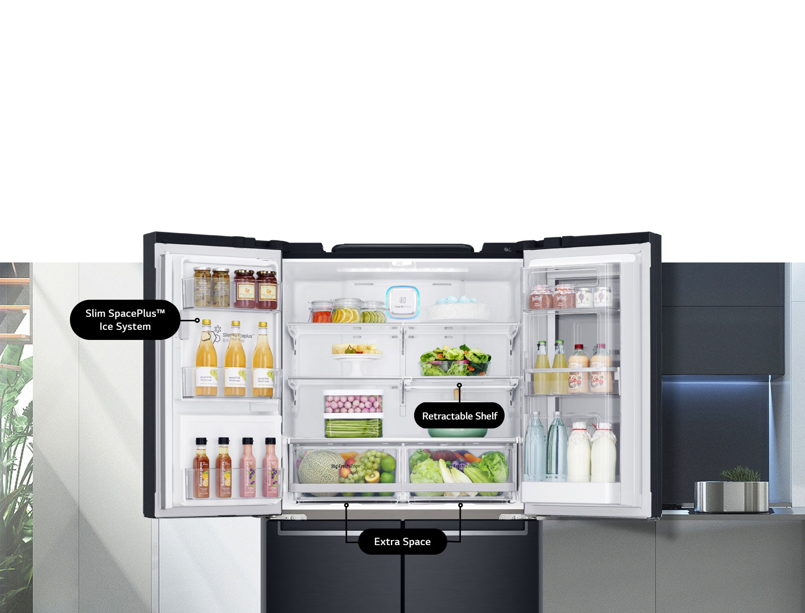 Smart Storage System Ultimate Convenience to Your Kitchen