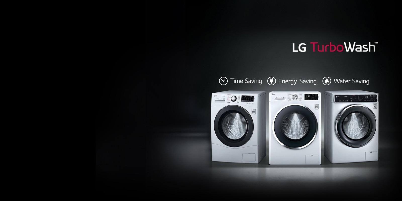 Lg Washing Machines Turbowash Amp Direct Drive Technology