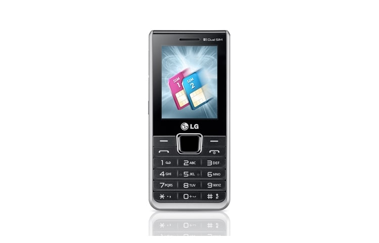 Lg A390 Dual Sim Mobile Phone With Long Lasting Battery