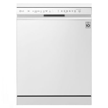 LG QuadWash™ Dishwasher, 14 Place Setting, EasyRack™ Plus, Inverter Direct Drive , A++ Energy Efficiency, SmartThinQ1