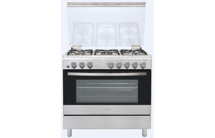 LG Gas Cookers LF68V00S thumbnail 1