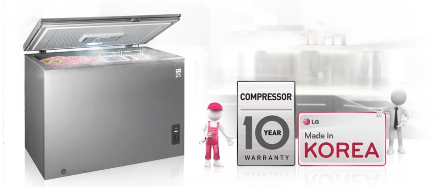 Compressor 10 Year Warranty