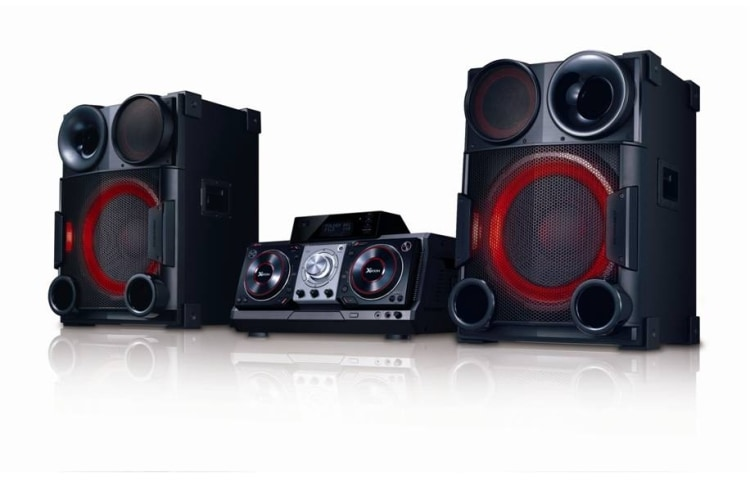 Lg X Boom Cm9730 Smart Dj 25 000 Watts Powerful Sound