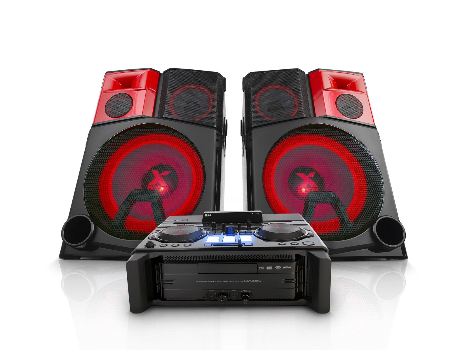 LG CM9950: DVD Home Theatre System l LG Electronics Africa