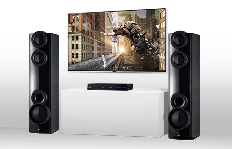 Lg Lhd675 4 2 Ch Dvd Home Theatre System L Lg Electronics