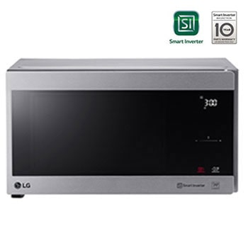 Microwave Oven, 42litres, Silver, Smart Inverter with 10year warranty, Grill, Smart Auto Cook, Full Glass Touch1