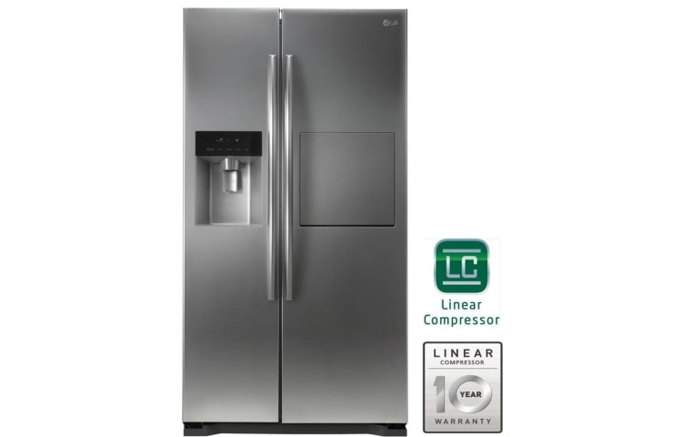 Lg Gc P207glyv Side By Side Refrigerator Smart Inverter
