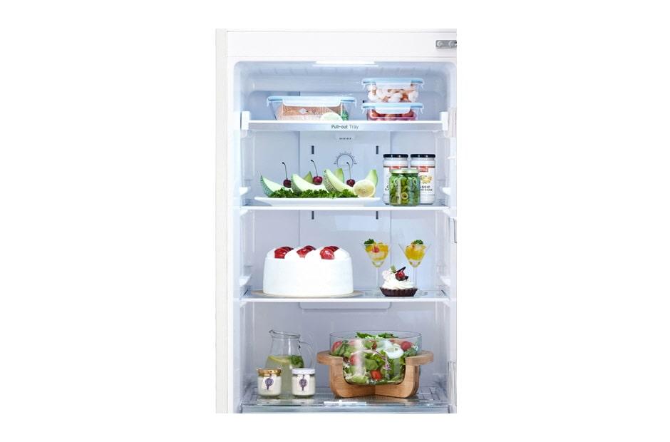 Awe Inspiring Lg Gn B222Slcl Top Mount Refrigerator With Smart Inverter Download Free Architecture Designs Salvmadebymaigaardcom