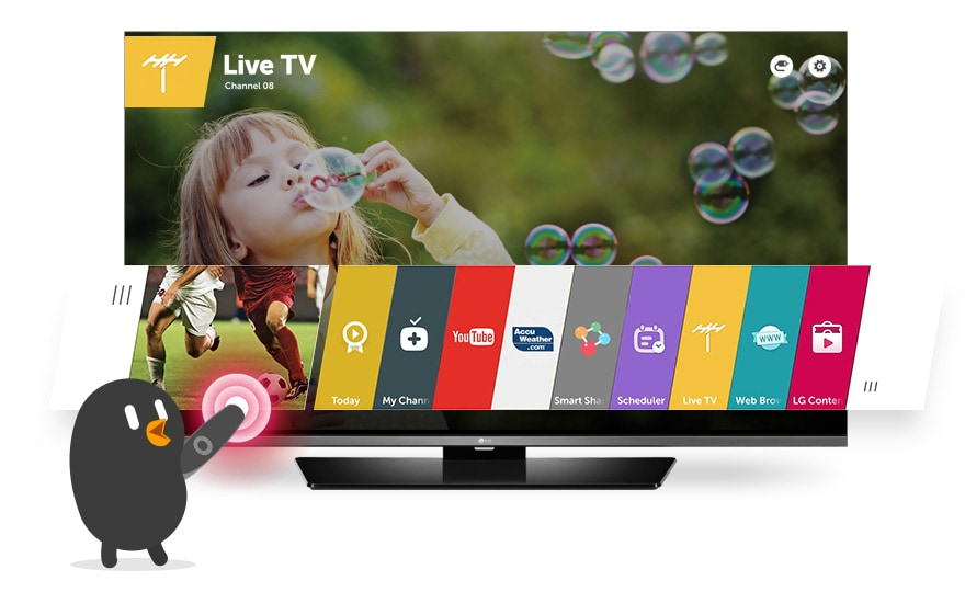 Lg 32lf631v Smart Tv With Webos And In Built Satellite Receiver L