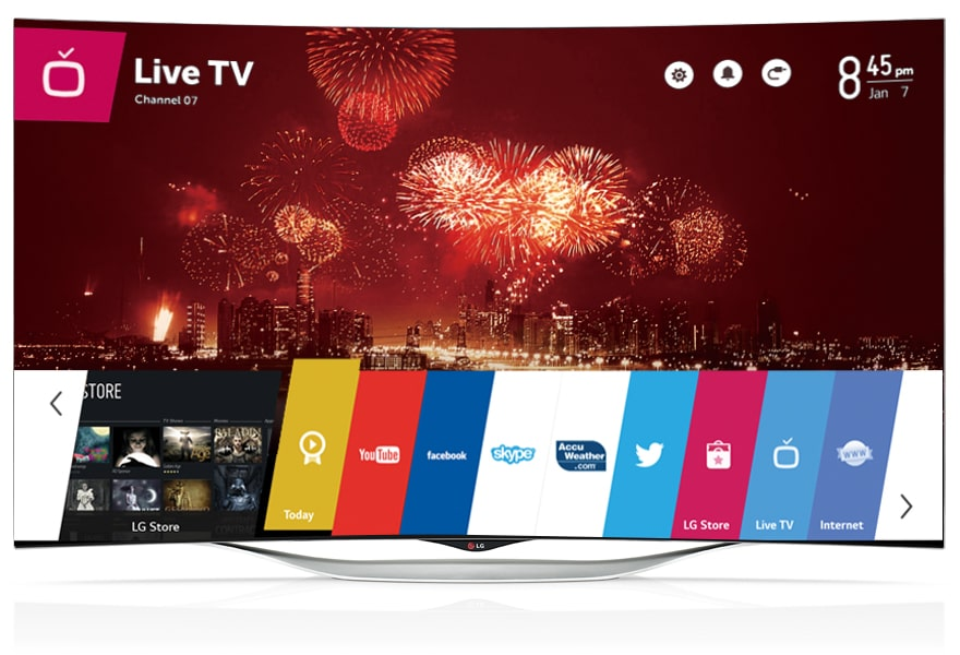 "Launcher, OLED TV, 55"" LG TV, LG OLED TV"