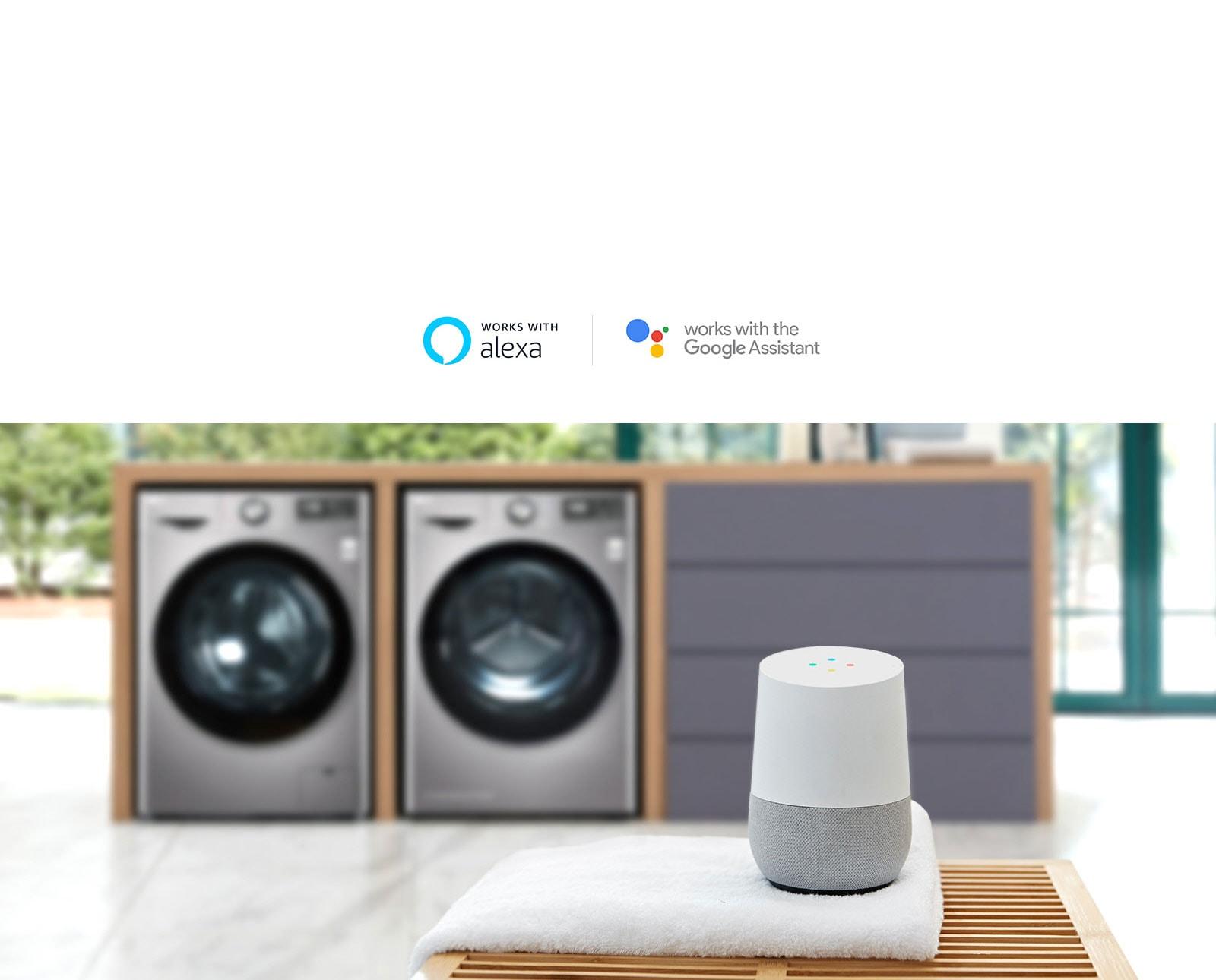 ALEXA ou Google Assistant machine intelligent