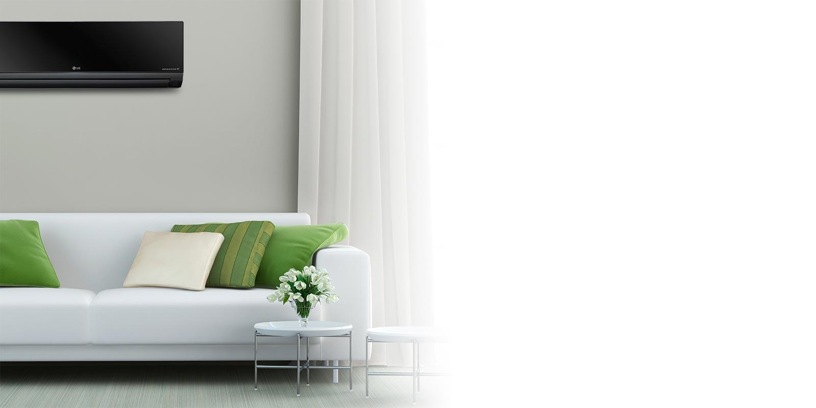 Aire acondicionado fr o calor split lg argentina for Cargar aire acondicionado casa