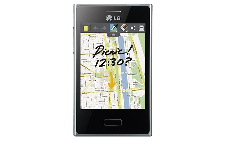 software para celular lg optimus l3