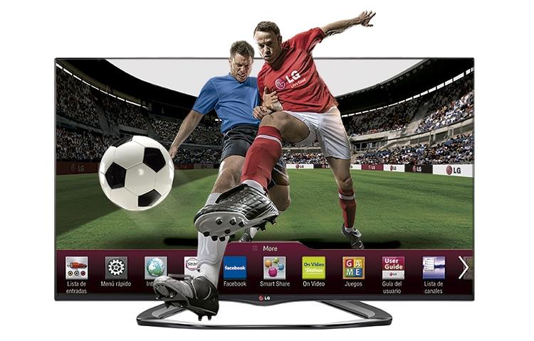 lg smart tv 3d 55 pulgadas televisor 55la6600 full hd. Black Bedroom Furniture Sets. Home Design Ideas
