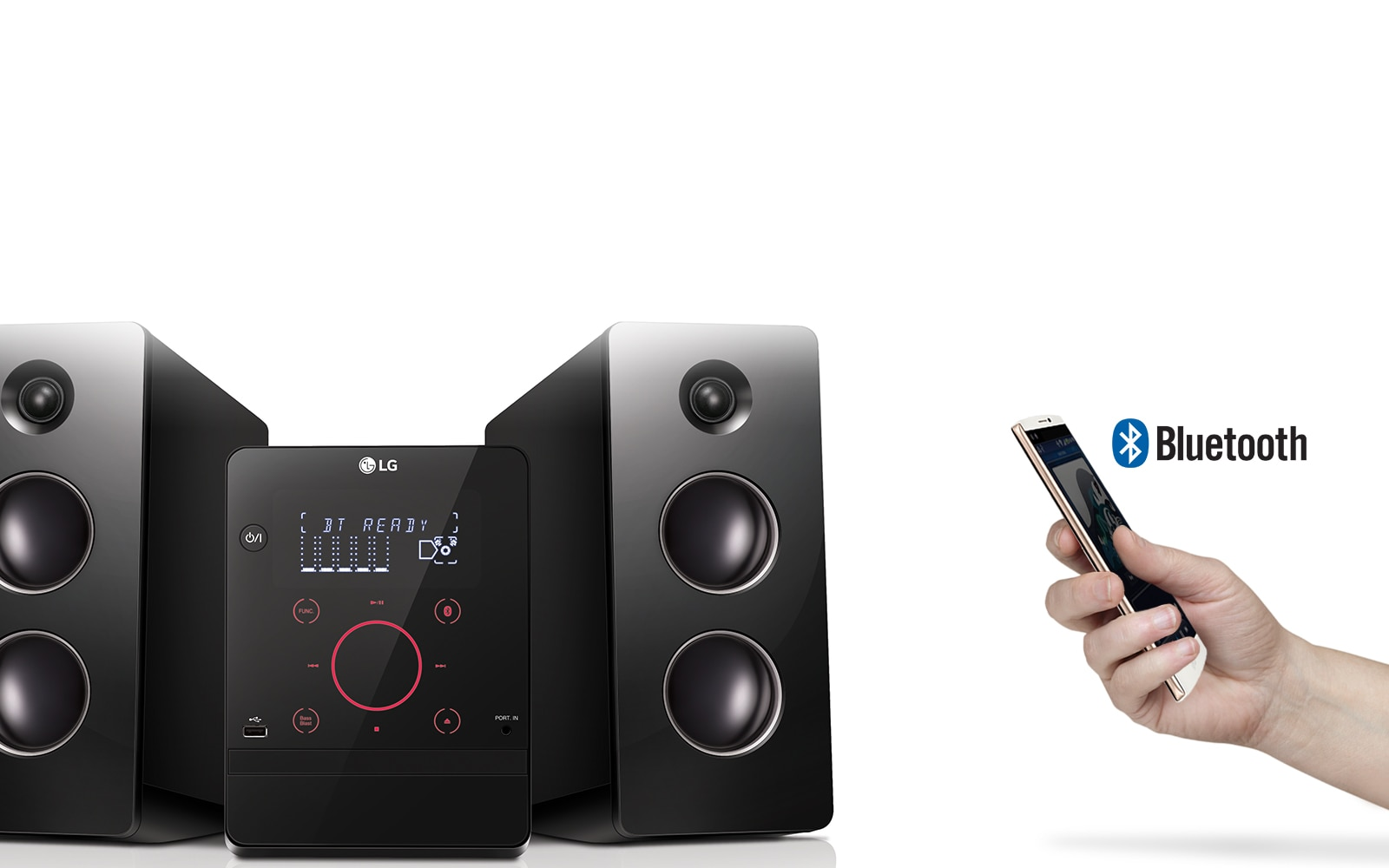 lg cm2760 micro hi fi audio system lg sterreich. Black Bedroom Furniture Sets. Home Design Ideas