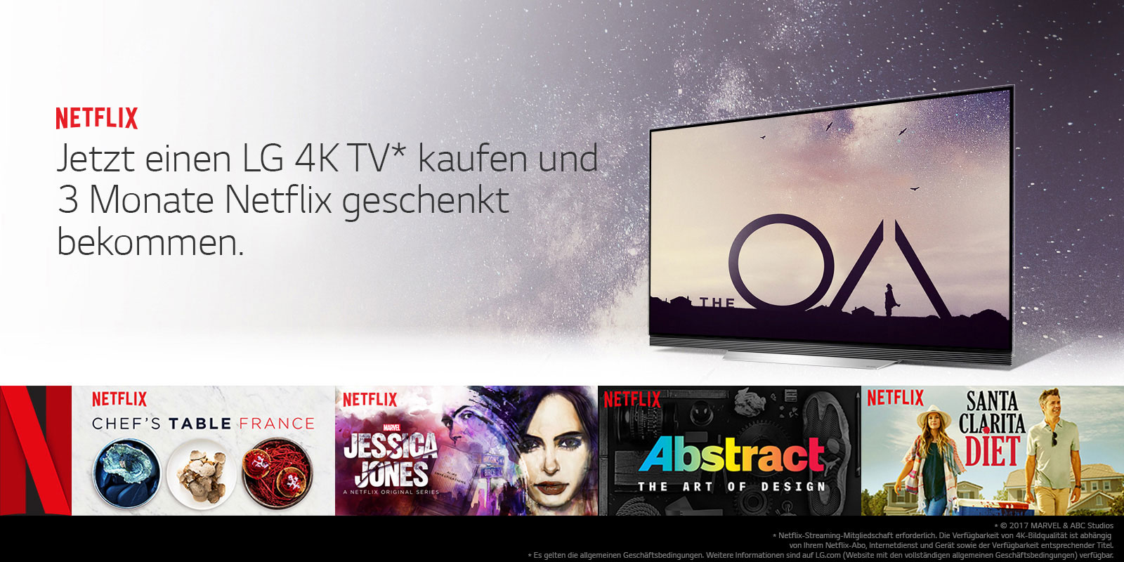 Netflix Recommended TV | LG Österreich
