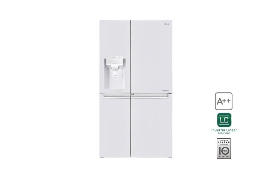 Amerikanischer Kühlschrank Wassertank : Lg gsj761swxz side by side lg Österreich