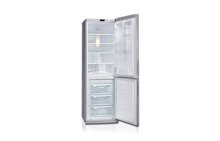 Kühlschrank No Frost : Lg gc b399plcw u2013 no frost kühl gefrierkombi in silber