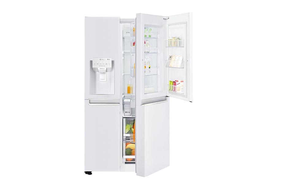 LG GSJ761SWXZ Side-by-Side | LG Österreich | {Amerikanische kühlschränke ohne wasseranschluss 41}